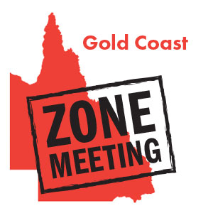 Gold Coast Zone meeting - 22/10/19